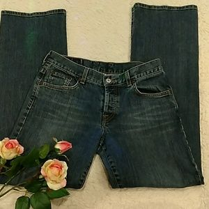 LUCKY BRAND DUNGAREES DENIM SIZE 4/27
